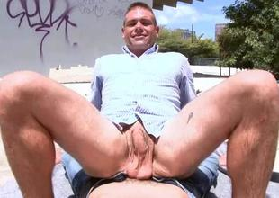 Gay defy is fucked in anal opening monitor fellatio