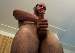 He makes a jack off video so he can share it with his pair friends