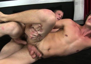Johnny Forza and Paul are into some hot bareback screwing and jerking