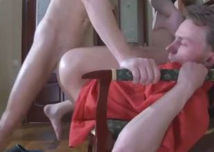 Nasty gay guy has hots for a boy craving for his cock roughly his mouth and butt