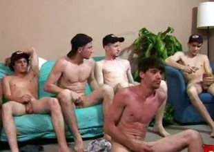 Penniless Straight Boys - Bukkake