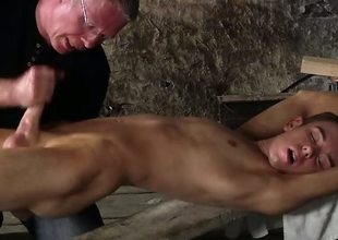 Wanked to a cum millstone by the master - Chad Chambers And Sebastian Kane