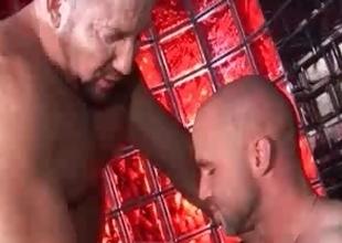 Extremely hot gay men shacking up