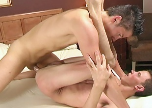 Kyle Foxxx and Tyler Berke, two roasting twinks gang each other...